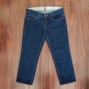 Uniqlo cropped jeans SZ 26 EUC